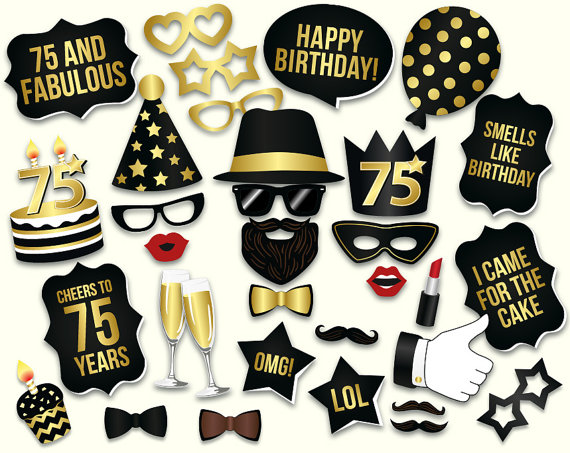 75th casino birthday party clipart clipart images gallery.