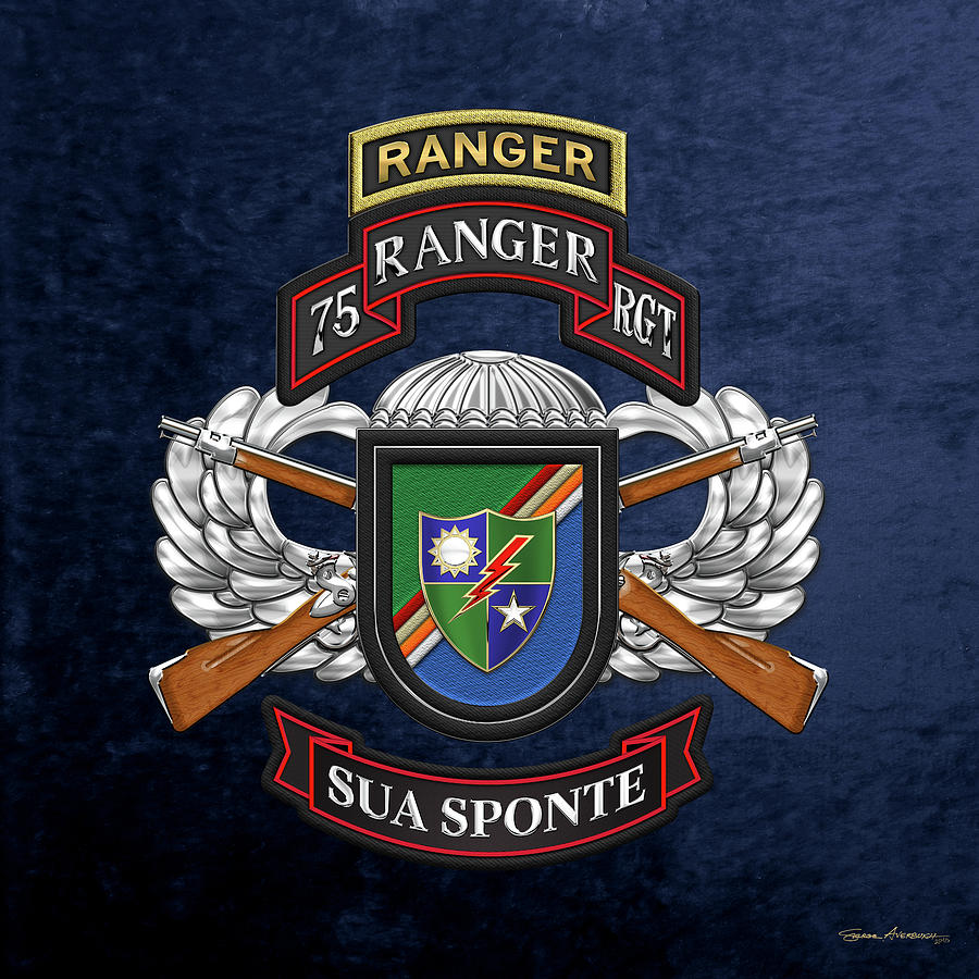 75th Ranger Regiment.