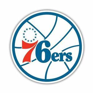 Details about Philadelphia 76ers New NBA Logo Basketball Vinyl Sticker car,  phone, wall, ect.