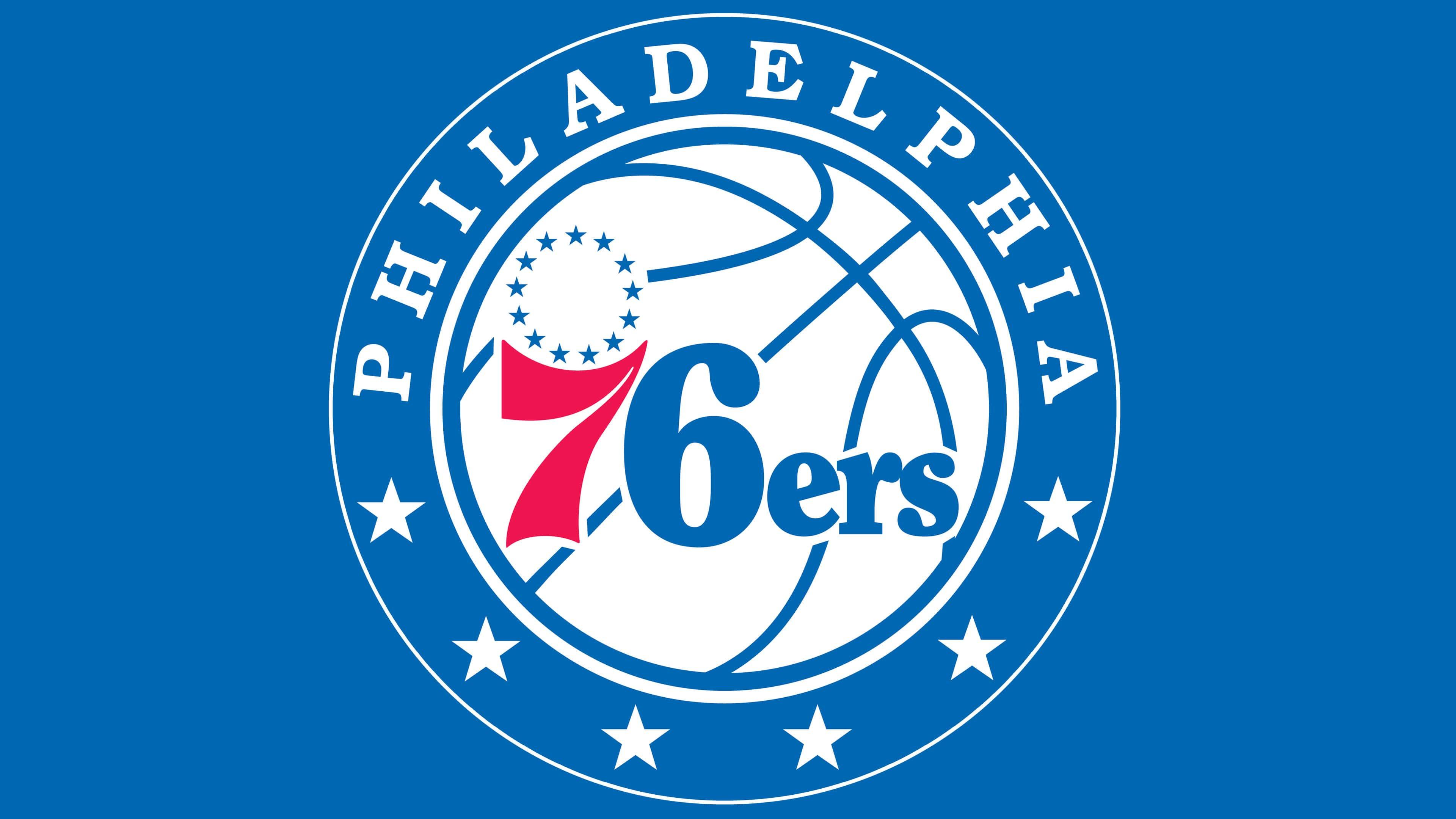 Philadelphia 76ers logos.