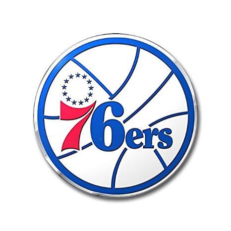 Philadelphia 76ers Color Emblem.