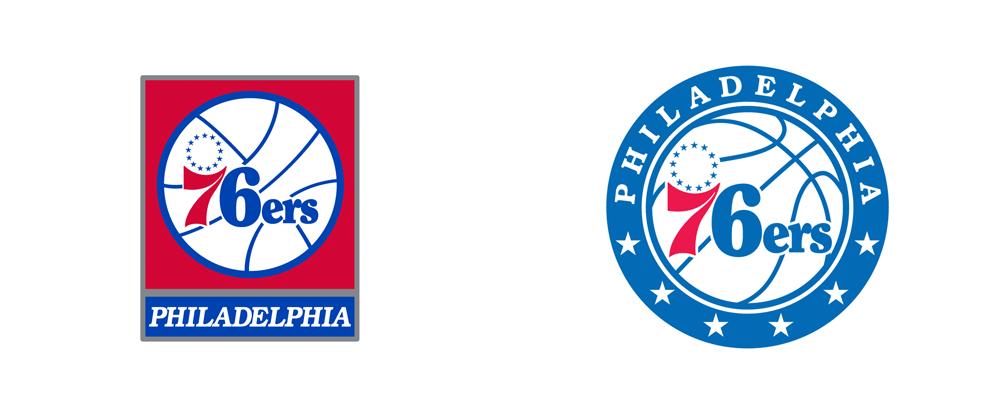 Brand New: New Logos for Philadelphia 76ers.