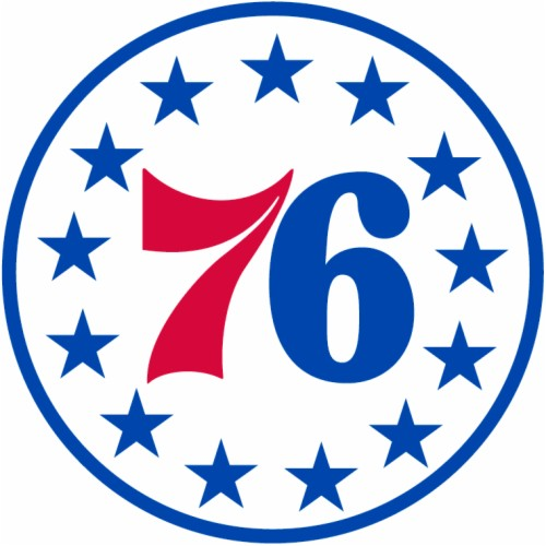 Philadelphia 76ers Logo.