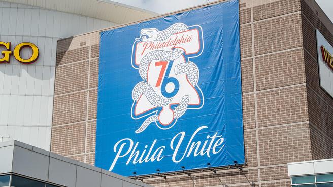 Sixers unveil \'Phila Unite\' playoff campaign.