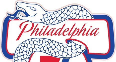 A Liberty Bell and a severed snake: 76ers marketing looks to.