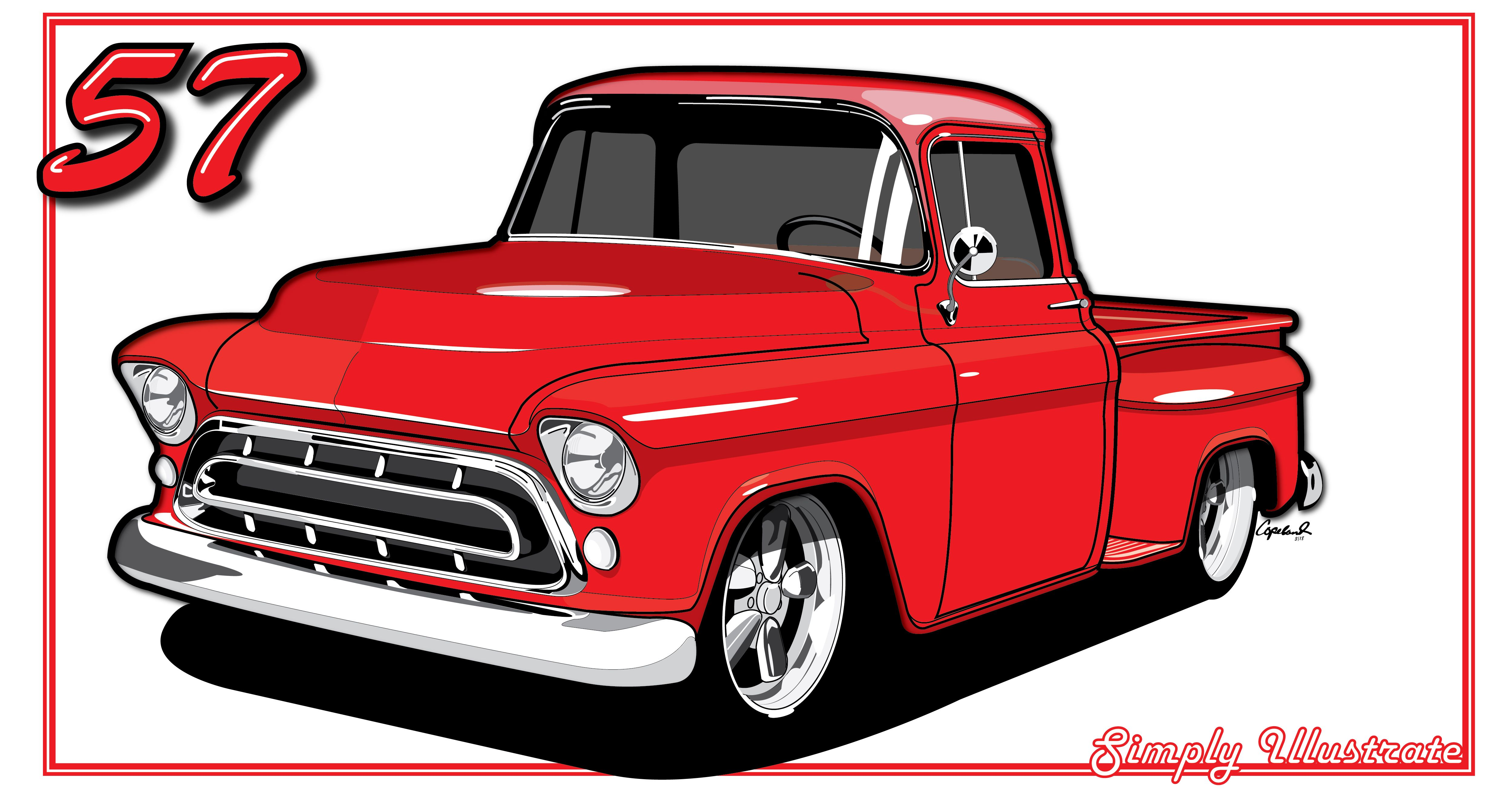 77 chevy truck clipart Transparent pictures on F.