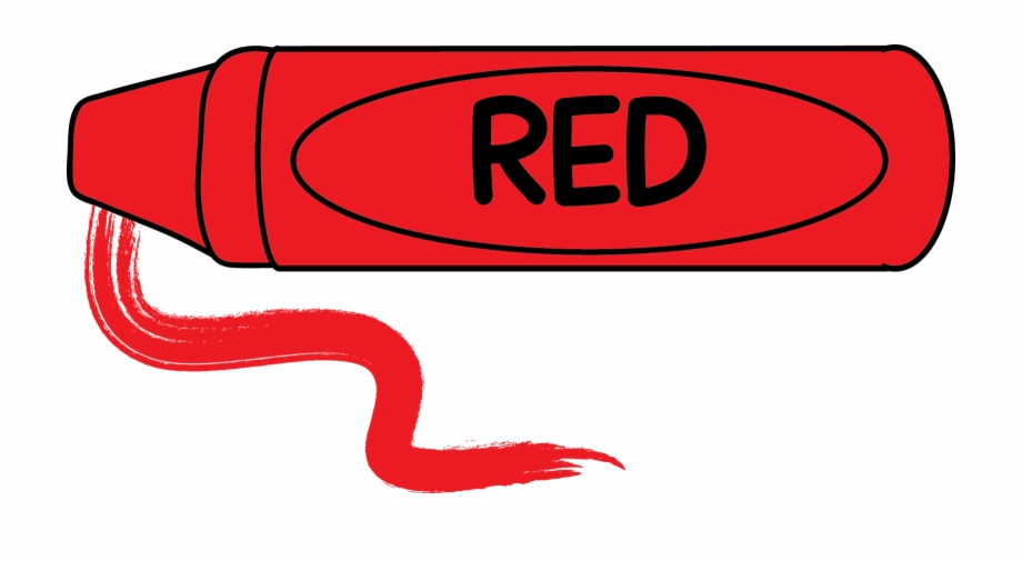 Free Clip Art Crayons Red Crayon Clipart.