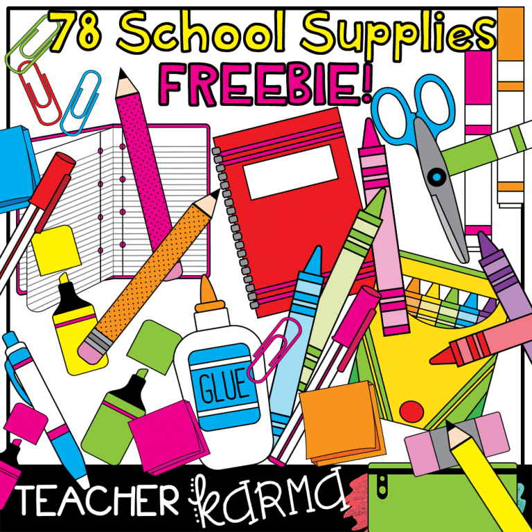FREE Clipart for Teachers! 78 Pieces!!.