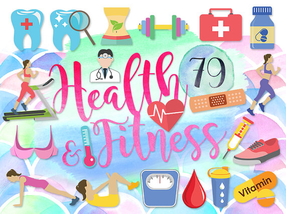 79 Cute Health Clipart: FITNESS CLIPARTS Teeth by GraphicVilla.