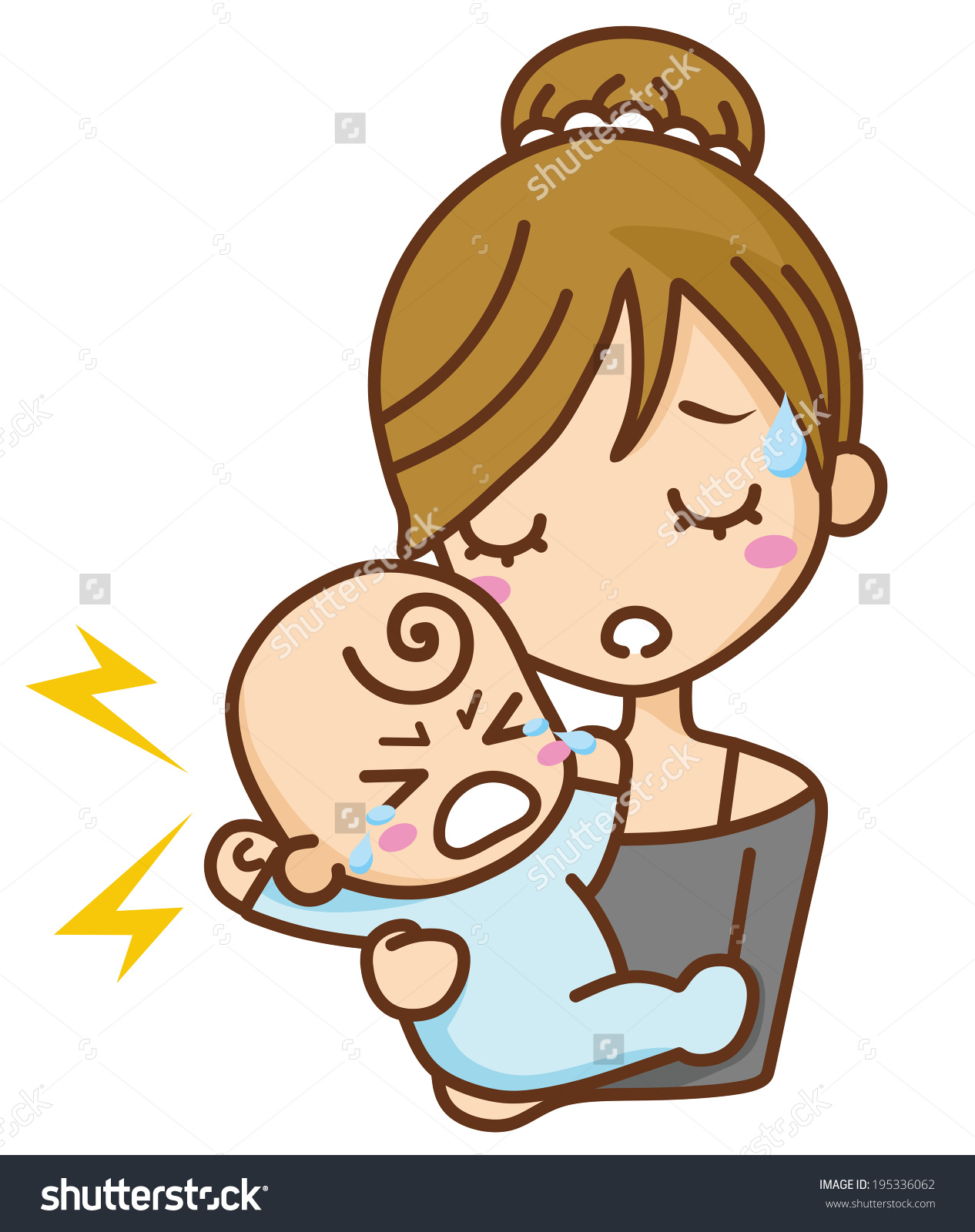 Crying Baby Images Clip Art (79 ).