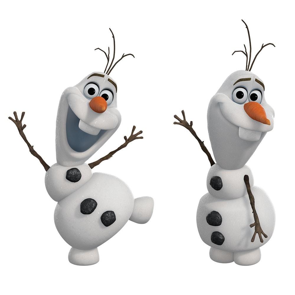 Adesivo De Parede Frozen Disney Olaf O Boneco De Neve R 7900.