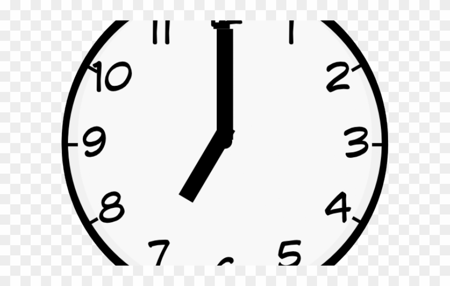 Clocks clipart 7 am, Clocks 7 am Transparent FREE for.