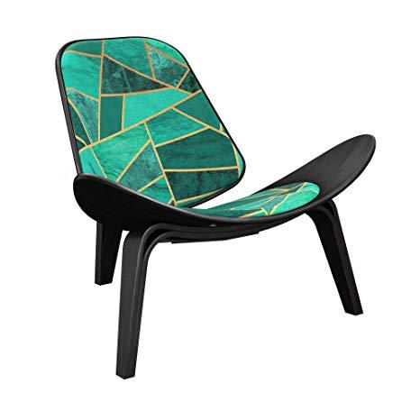 Amazon.com: NyeKoncept 14000479 Emerald Envy Shell Chair.