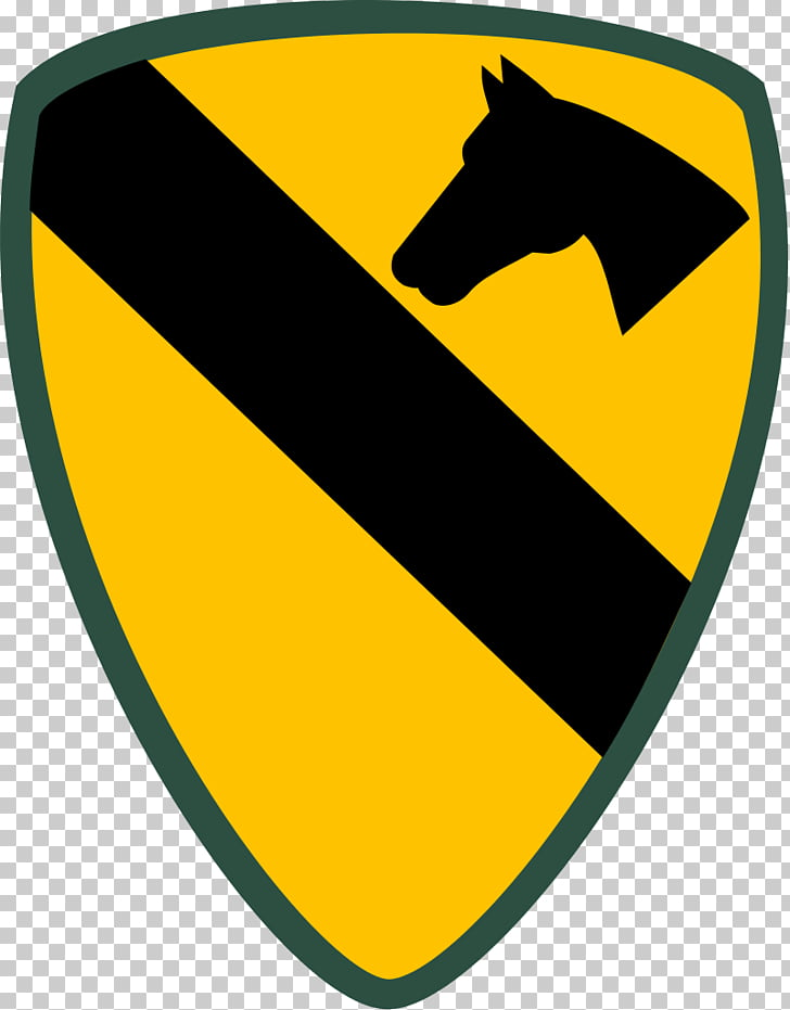 Fort Hood 1st Cavalry Division Shoulder sleeve insignia, 1st.