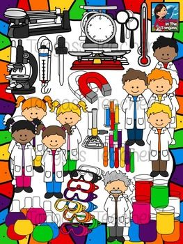 Science Clipart MEGA Set.