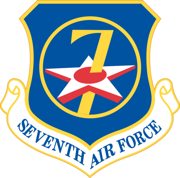 7Th Air Force Us Air Force Civil Air.