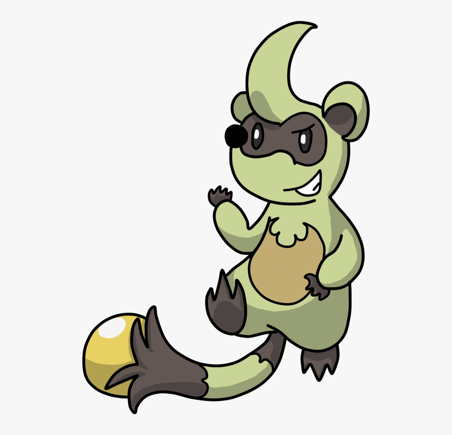 Pokemon Gen 8 Starters Raccoon Clipart , Png Download.