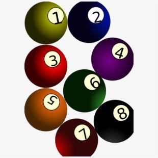 Free Billiard Balls Clipart Cliparts, Silhouettes, Cartoons Free.