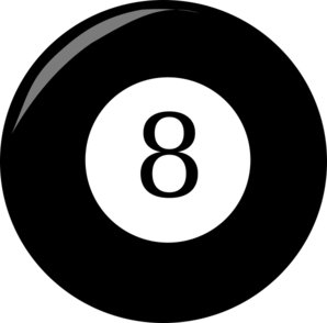 8 Ball Clip Art at Clker.com.