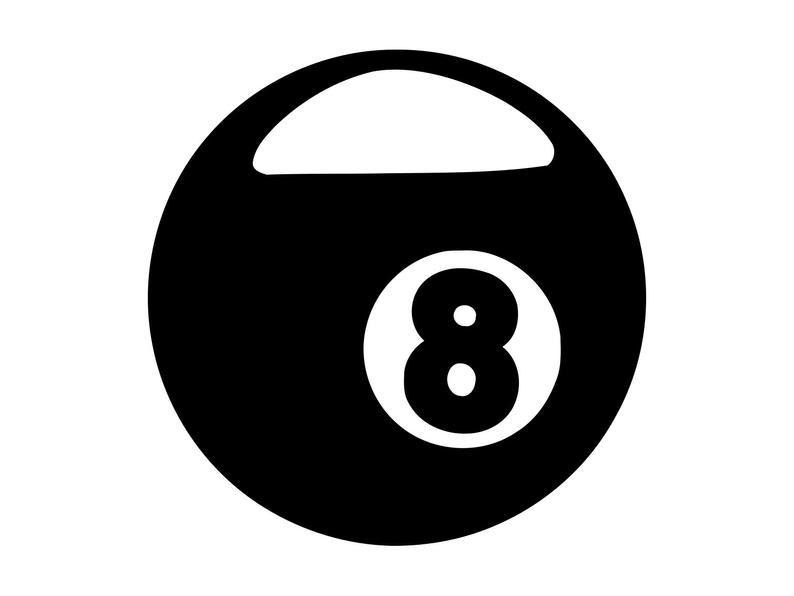 8 Ball Svg, Pool Svg, Billiards Vector, 8 ball Cutting File, 8 ball  Clipart, Pool Art, Cnc, Laser Cut File, Tshirt Vector, 8 ball Eps.