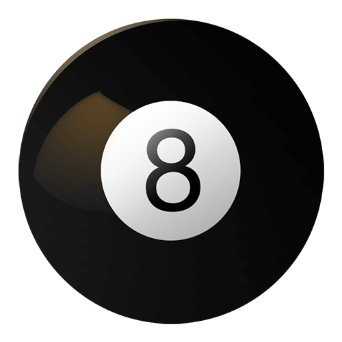 Magic 8 ball.