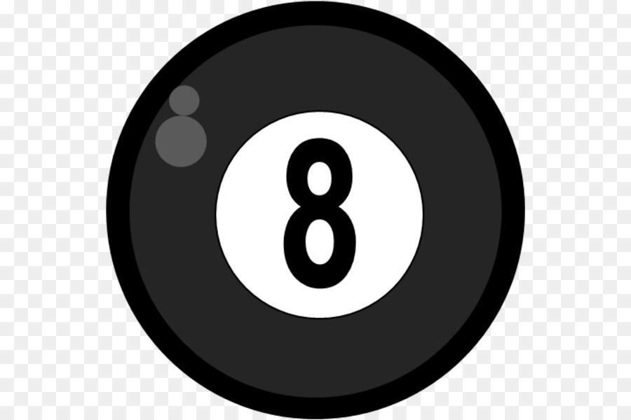 8 Ball Pool Symbol png download.