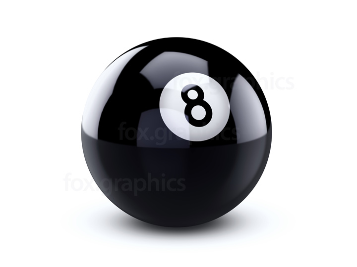Eight ball PNG.
