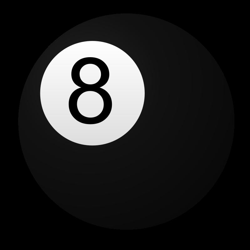 8 Ball Pool Clipart.