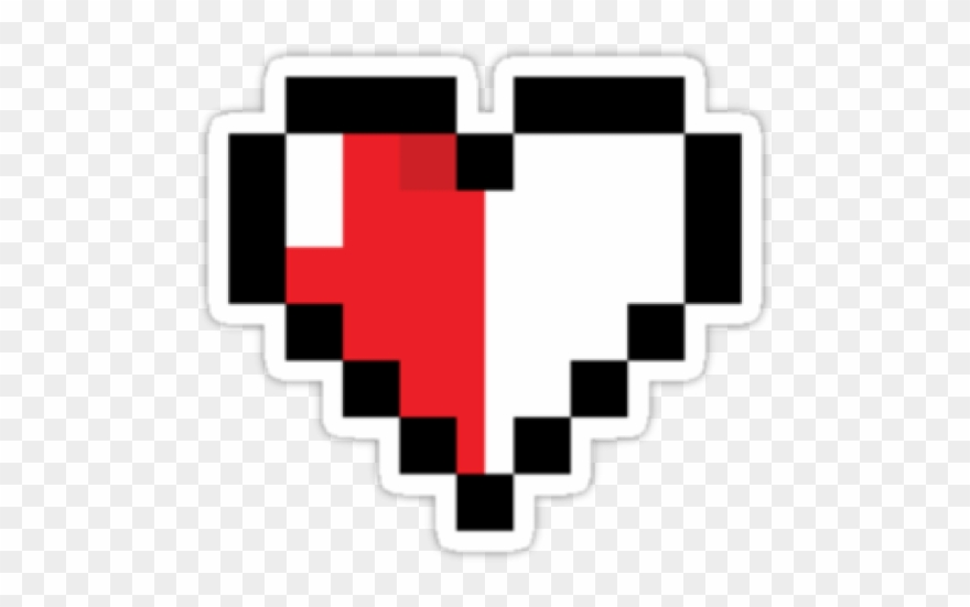 The Legend Of Zelda Clipart Pixel Heart.