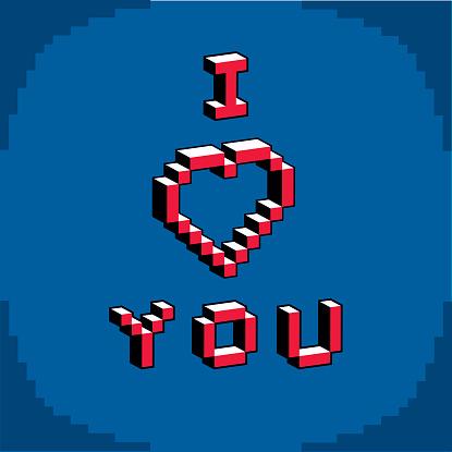 8 Bit Letters Clip Art, Vector Images & Illustrations.