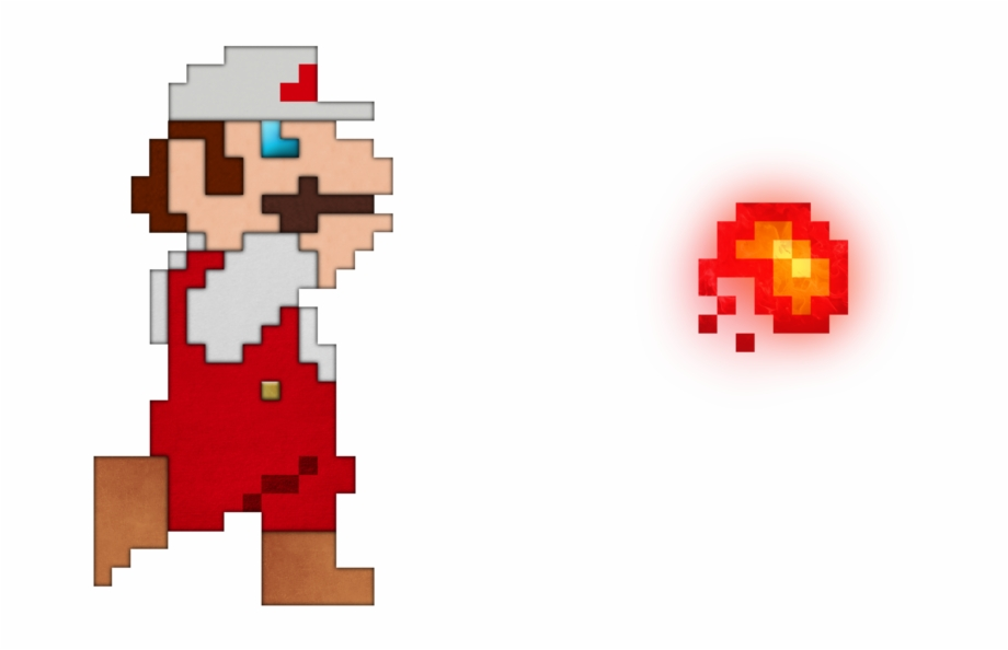 Graphic Transparent Library Real Life Fire Mario By.
