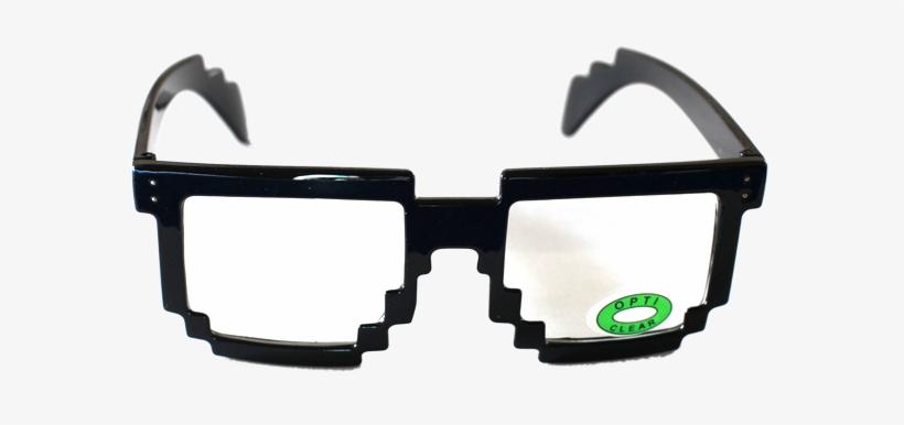 8 Bit Glasses Png.