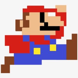 Mario Clipart 8 Bit.