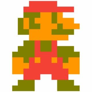 8 Bit Mario PNG Images.