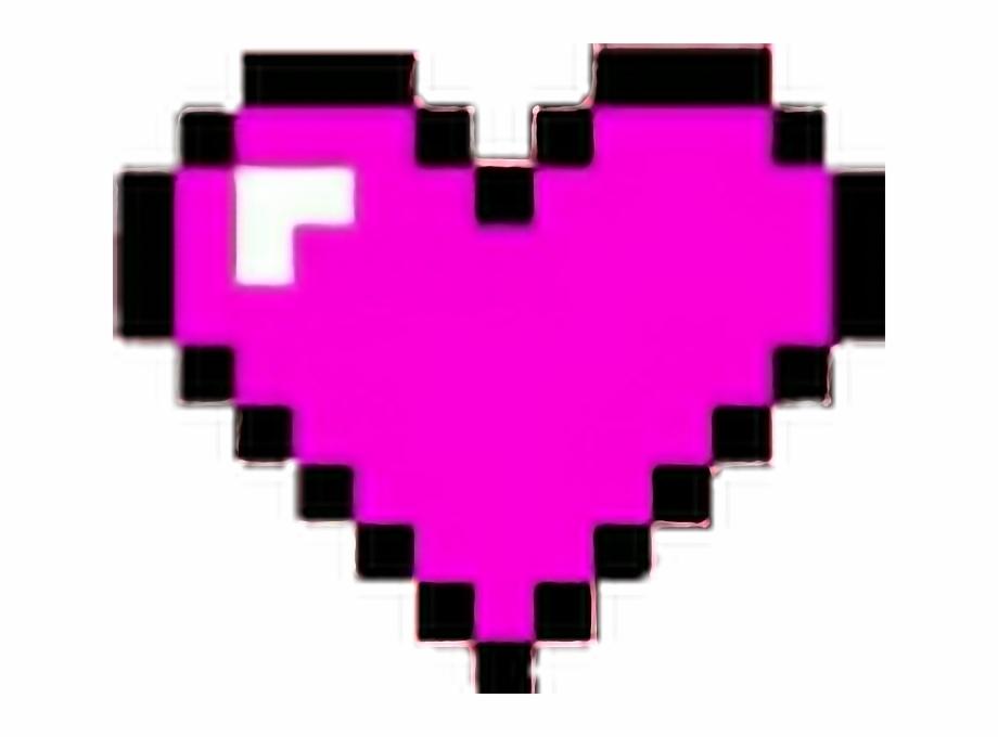 corazones #corazon #heart #hearts #pixeles #minecraft.