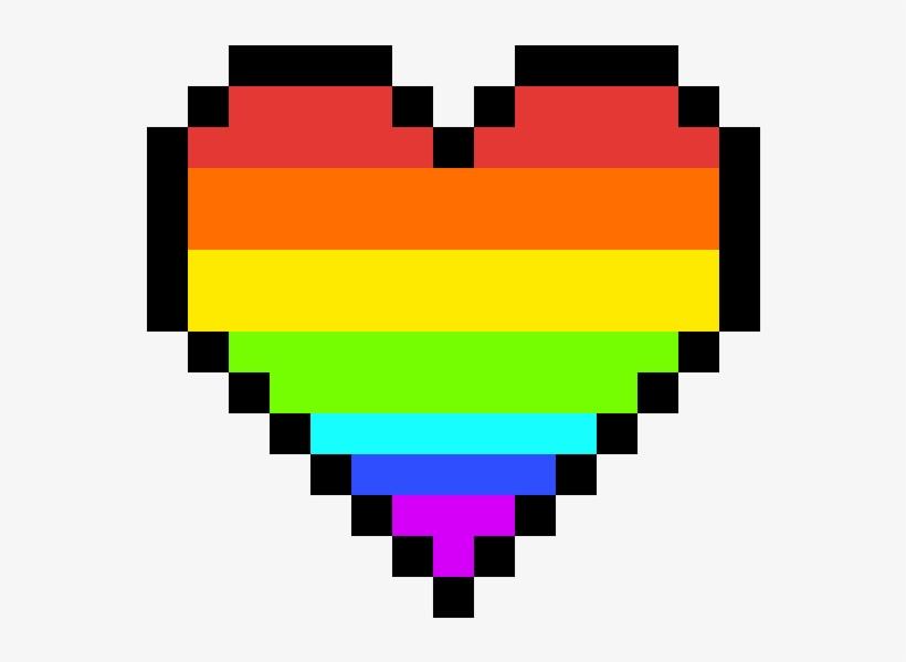 Rainbow Heart.