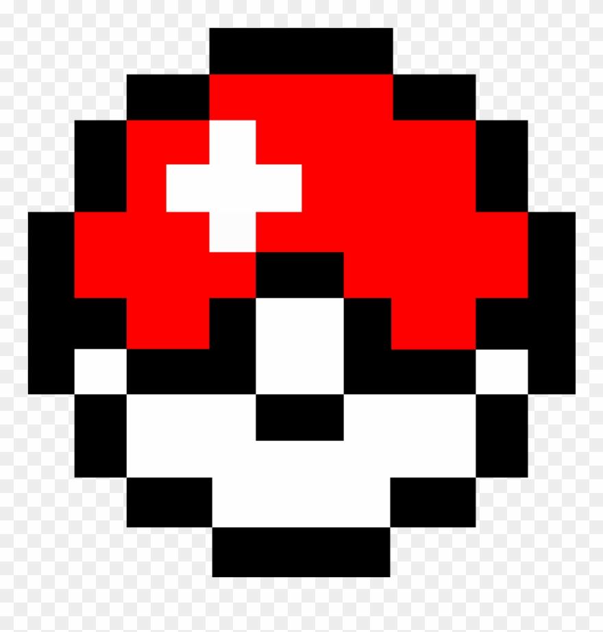Pokeball Nerd Pokemon Pixel Clip Art Freeuse.
