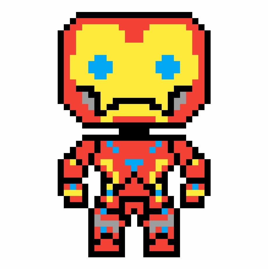Iron Man 8 Bit.