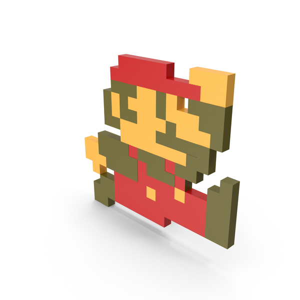 8 Bit PNG Images & PSDs for Download.