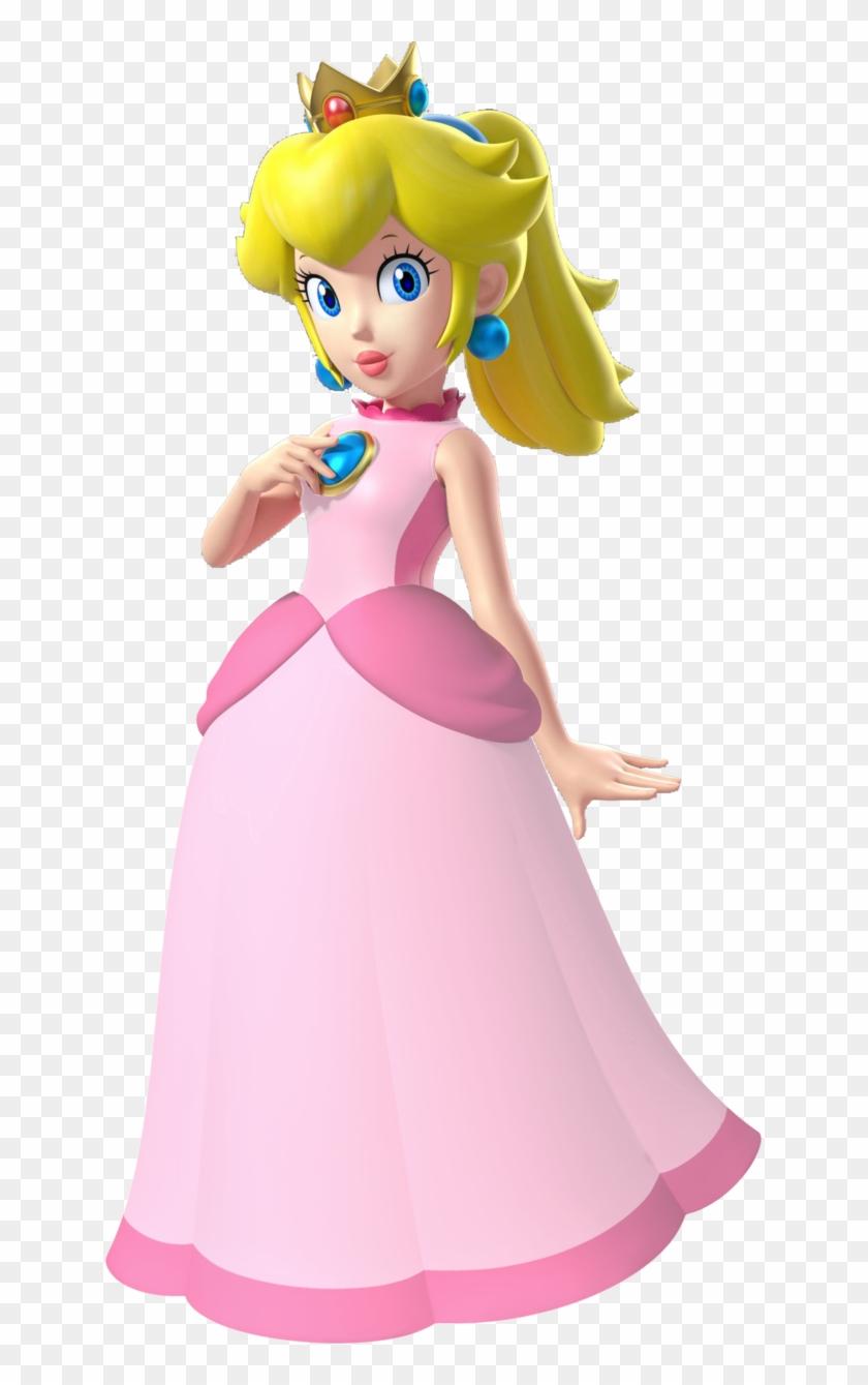 Princess Peach Clipart Hi Res.