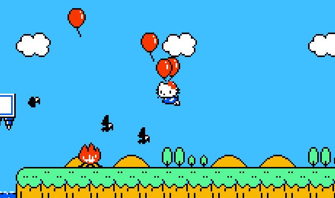 Hello Kitty World, the Secret Nintendo Game.