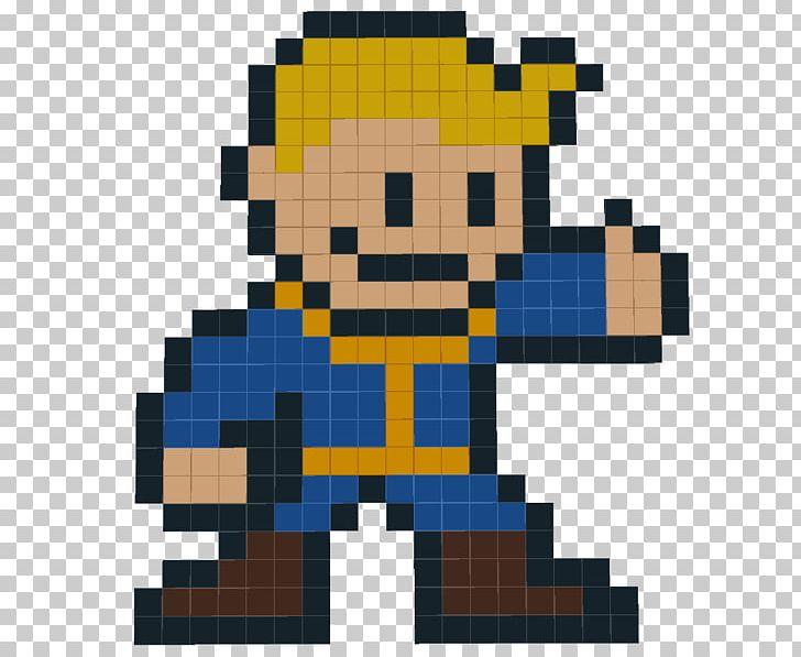 Fallout: New Vegas Pixel Art The Vault Super Street Fighter.