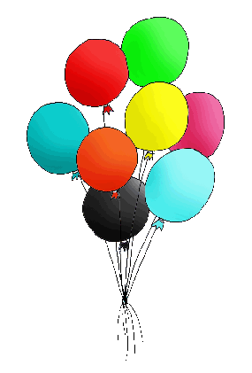 Free birthday balloon clip art clipart images 8.
