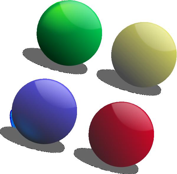Colour Balls Clip Art at Clker.com.