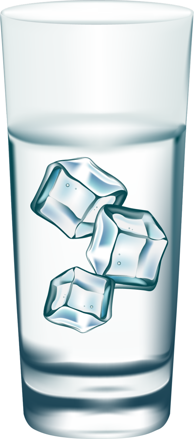 Glass of water cup of water clipart 8.