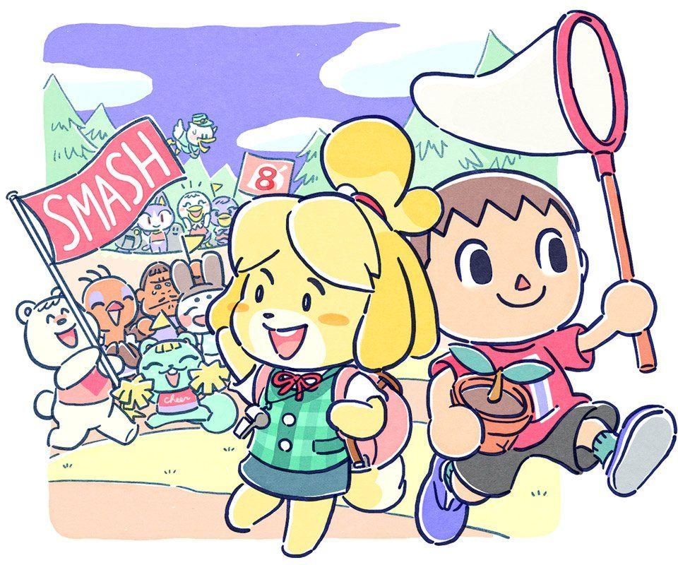 Countdown to Super Smash Bros. Ultimate (Animal Crossing.