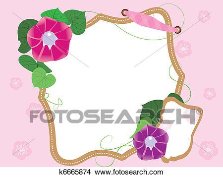 Baby scrapbook(8) flowers Clipart.