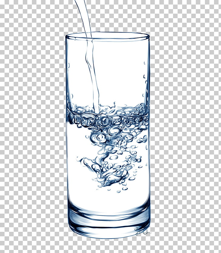 Glass fiber Drinking water Cup, water glass PNG clipart.