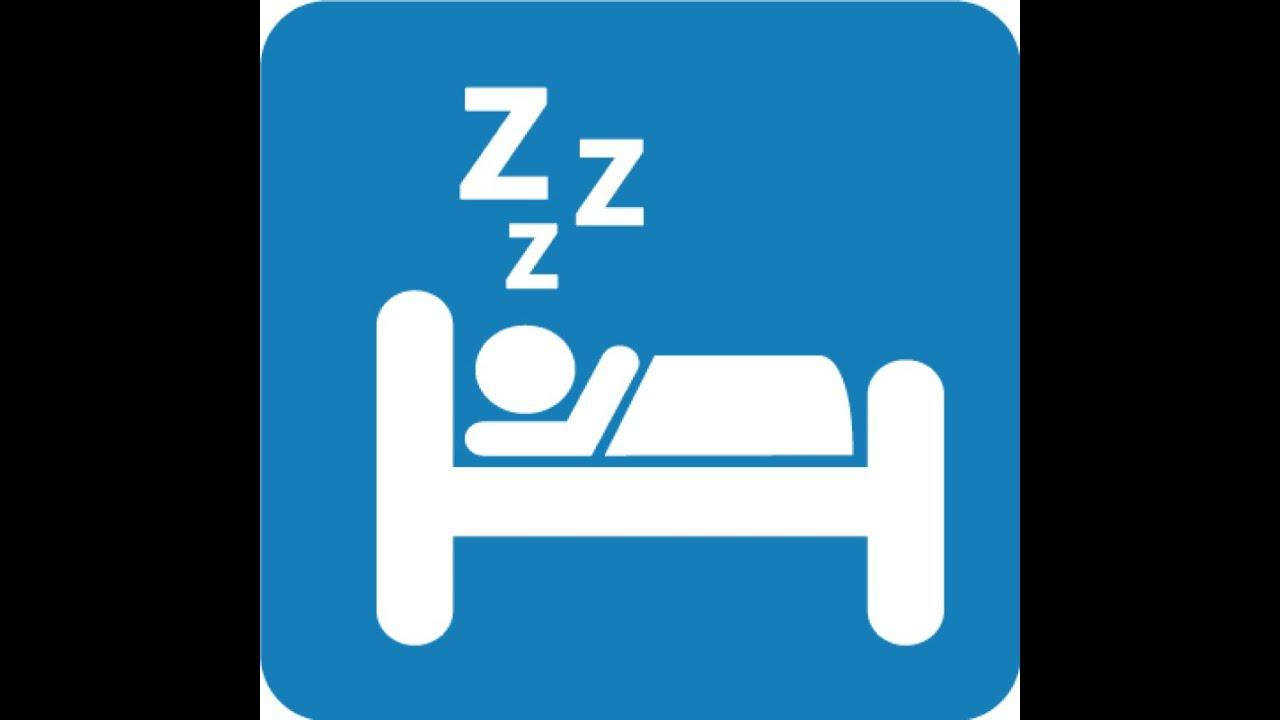 8 Hours of Sleep Clip Art.
