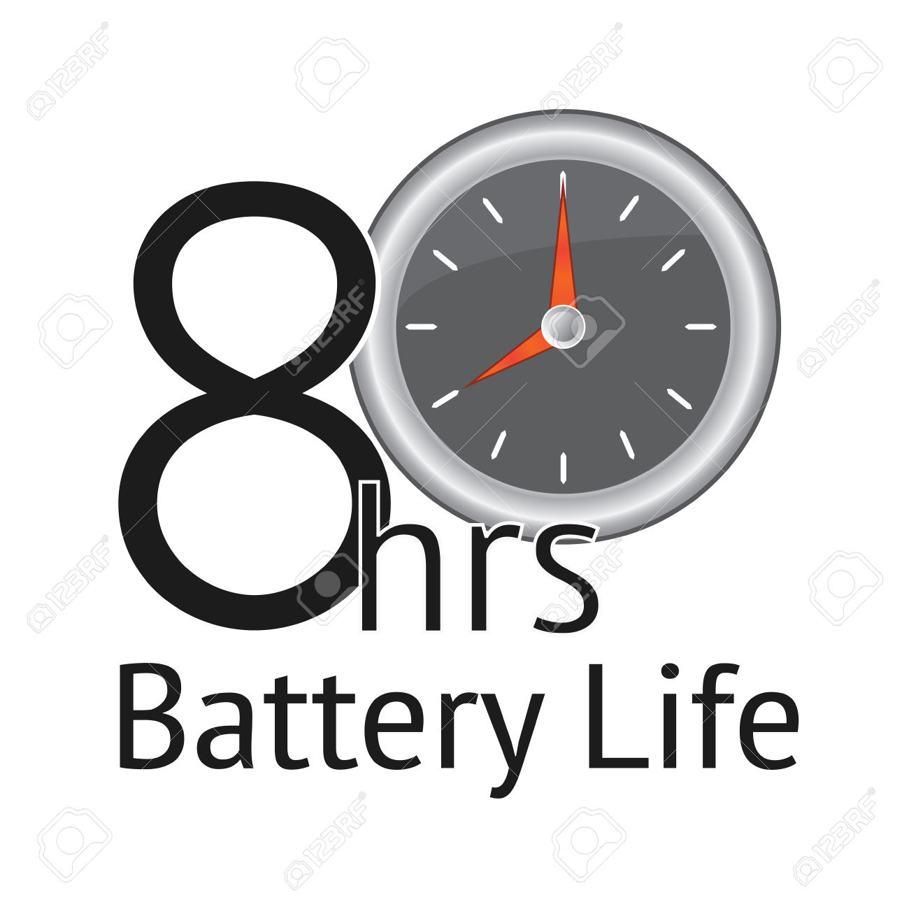 Live clipart battery life.